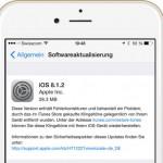 Apple veröffentlicht iOS 8.1.2