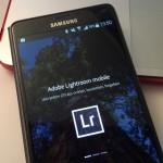 Adobe Lightroom für Android veröffentlicht