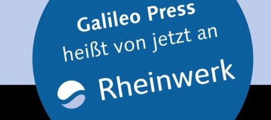 Galileo Press wird zu Rheinwerk