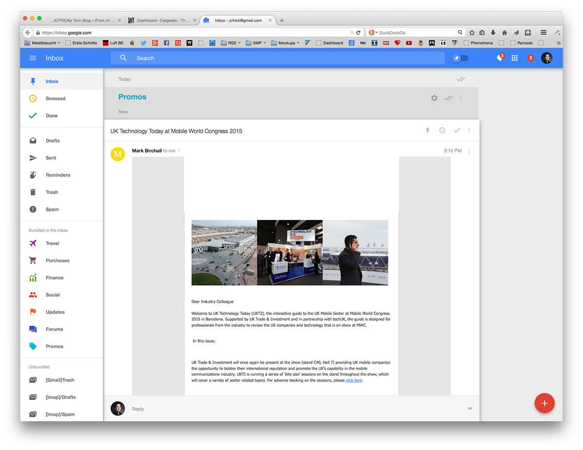 Gmail Inbox Invites as adorable invitations ideas