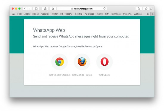 WhatsApp-Web-Browsers