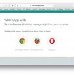 WhatsApp Web unterstützt neben Chrome nun weitere Browser