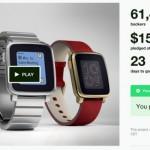 Pebble Time: Erfolgreichstes Kickstarter Projekt bisher