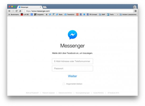 Facebook-Messenger-Web