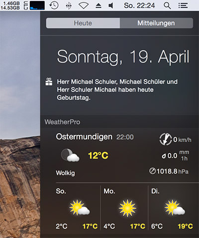 WeatherPro-Widet