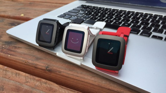 Pebble-Time-Watches