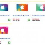 20% Rabatt auf iTunes Karten im Mai