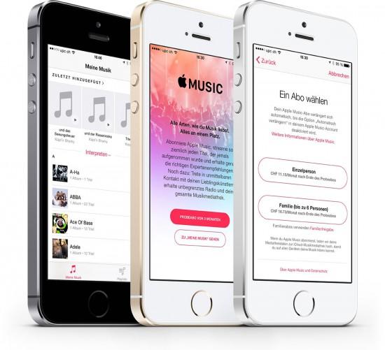 Apple-Music-Schweiz
