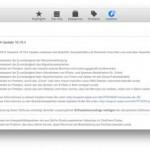 Apple veröffentlicht OS X 10.10.4