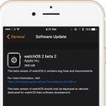 Apple Watch: WatchOS 2 Beta 2 für Entwickler veröffentlicht