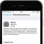 Apple veröffentlicht iOS 8.4 mit neuer Musik App