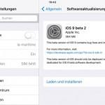 Apple veröffentlicht Beta 2 von iOS 9 und OS X El Capitan