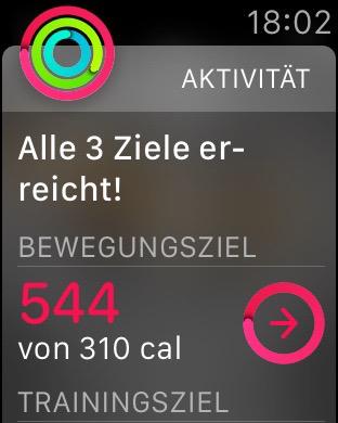 Apple-Watch-Bewegungsziel-erreicht
