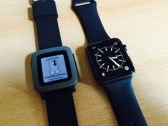 Pebbel-Time-and-Apple-Watch