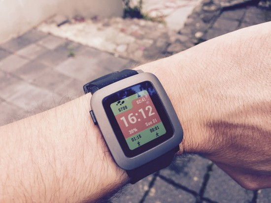 Pebble-Time-Fitness-Watchface