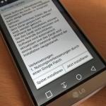 LG G3: Update mit Google Patch schliesst Stagefright-Lücke
