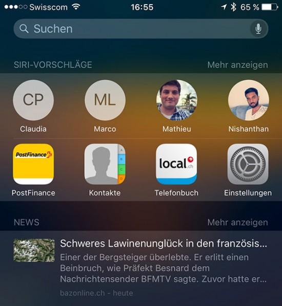 Siri-Page