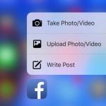 Facebook App unterstützt nun 3D Touch auf dem iPhone 6S