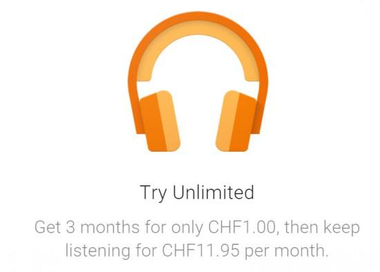 GooglePlay Unlimited Offer Dez 2015