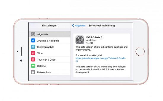 iOS-9.3-Beta-3-Update-Setting