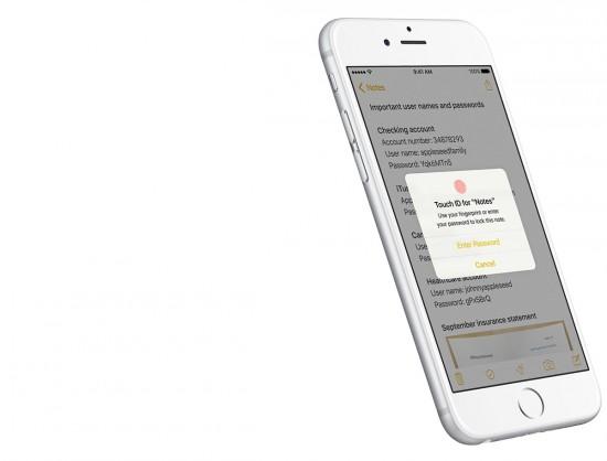 iOS-9.3-Notes-App