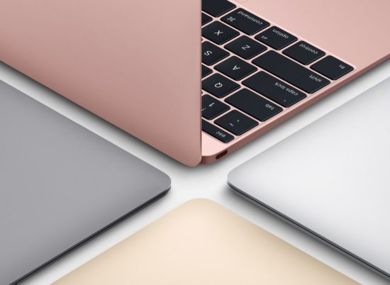 Macbook Early 2016 Colors