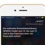 Apple: WWDC 2016 laut Siri vom 13. bis 17. Juni
