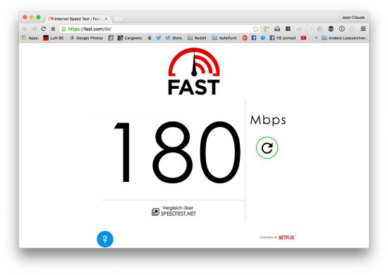 Netflix-Speedtest