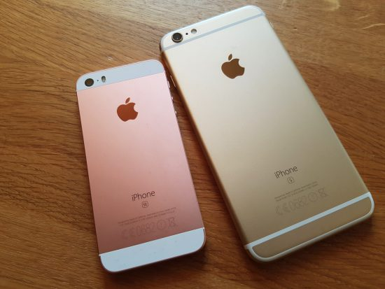 iPhone SE iPhone 6S Plus Back