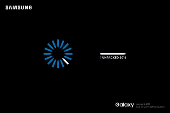 Galaxy Note 7 Unpacked Event