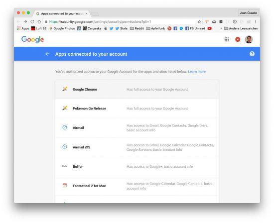 Pokemon Go Google Full Access