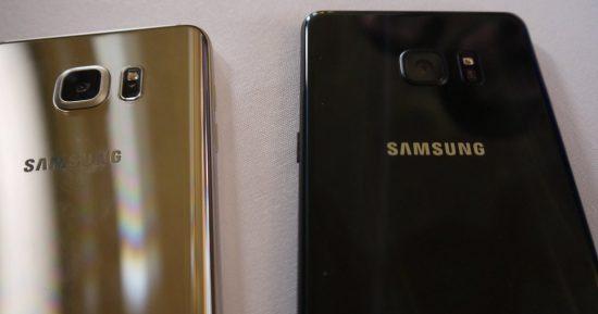 Galaxy Note 7 Kamera vs Galaxy Note 5