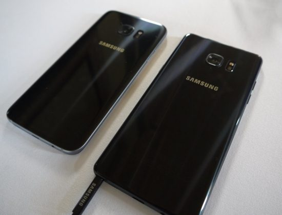 Galaxy Note 7 vs Galaxy S7 Edge