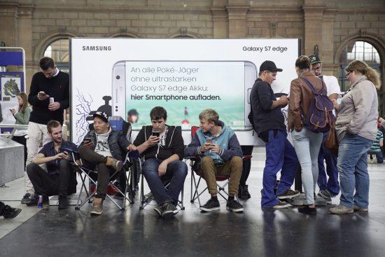 Samsung Pokemon Go Werbung HB ZH