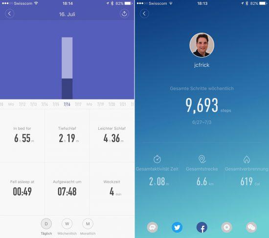 Xiamo-MIBand-App