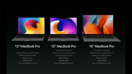 Apple MacBook Pro Spezifikationen
