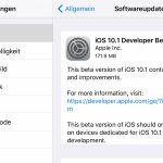 Apple veröffentlicht iOS 10.1 Beta 2 mit Portrait Modus für iPhone 7 Plus