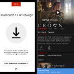 Netflix kann jetzt Offline – App Update für Android und iOS