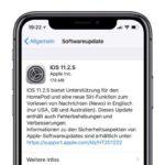 Apple veröffentlicht iOS 11.2.5 – Unterstützt den HomePod