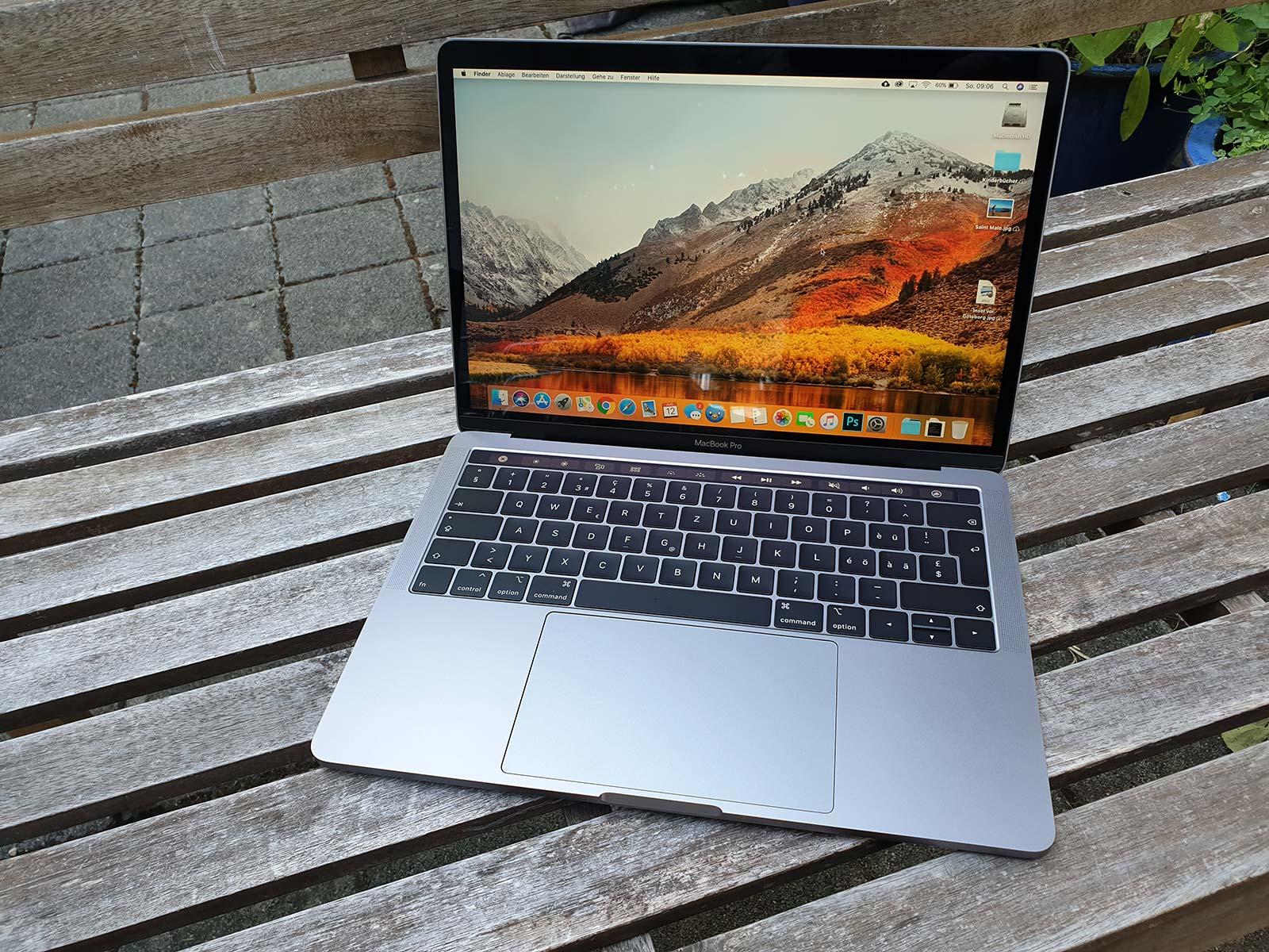 Macbook Pro 2018 Getestet Workstation Power Fur Unterwegs Ifrick Ch Nothing But Techifrick Ch Nothing But Tech
