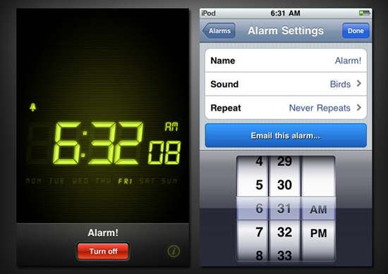 Alarm! App